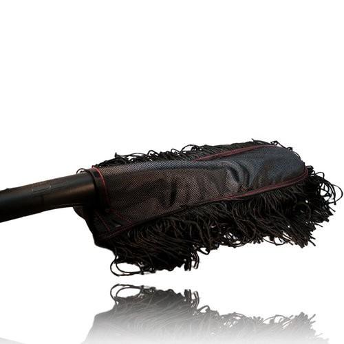 microfiber car duster xl size black. Black Bedroom Furniture Sets. Home Design Ideas