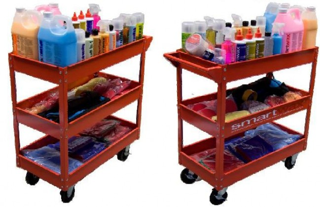 The Professional Autodetailing Trolley Kit