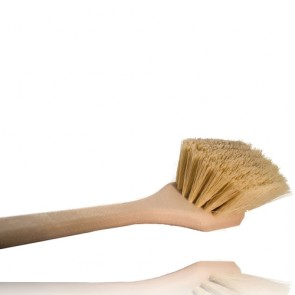 "LONG HANDLE STIFF UTILITY BRUSH, STRAIGHT HANDLE (20"" / 50CM)"