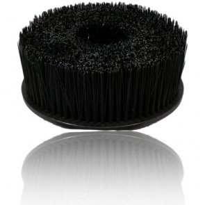 UPHOLSTERY BRUSH LONG HAIR WITH HOOK-AND-LOOP ATTACHMENT (FOR ROTARY & RANDOM ORBITAL)