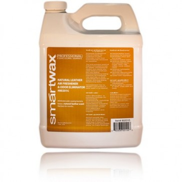 Odor Eliminator with Natural Leather Scent Gallon