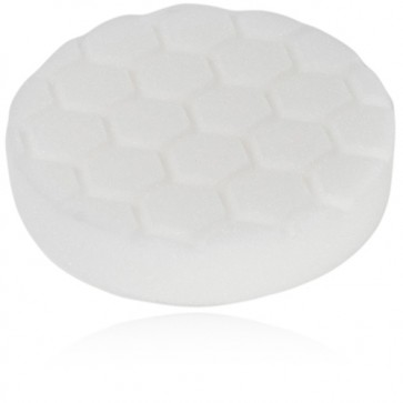 HEX LOGIC 4 INCH WHITE POLISHING PAD