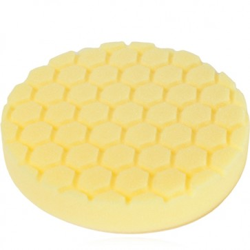 HEX LOGIC 5,5 INCH YELLOW HEAVY CUTTING PAD