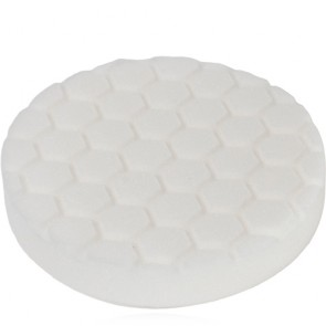 HEX LOGIC 5,5 INCH WHITE POLISHING PAD