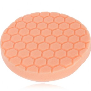 HEX LOGIC 6,5 INCH ORANGE MEDIUM CUTTING PAD
