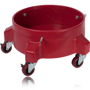 BUCKET DOLLY RED