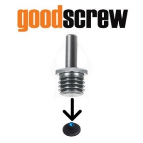 GOOD SCREW DRILL ADAPTER FOR ROTARY BACKING PLATES